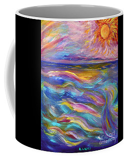 A Peaceful Mind - Abstract Painting Coffee Mug by Robyn King