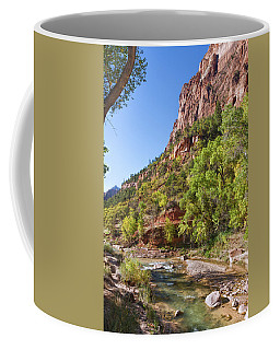 Coffee Mug featuring the photograph A Peaceful Zion by John M Bailey