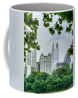 A Peek At The Atlanta Skyline Coffee Mug