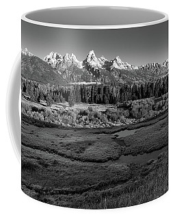 A Perfect Frosty Morning In Grey Scale Coffee Mug