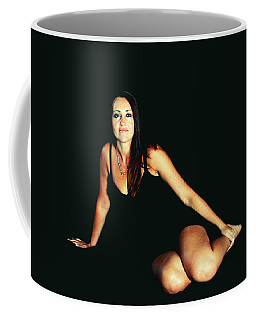 A Person Divided Coffee Mug