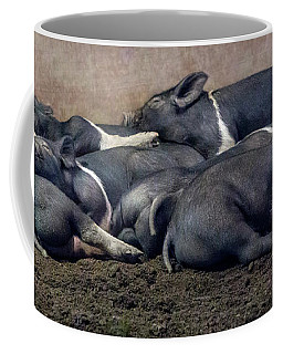 A Pile Of Pampered Piglets Coffee Mug