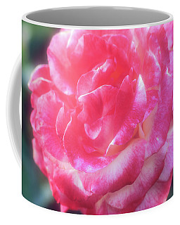 Coffee Mug featuring the photograph A Pink Rose by John Brink
