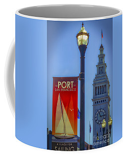 A Place For Sailing Coffee Mug by Mitch Shindelbower