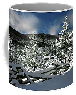A Place In The Winter Sun Coffee Mug