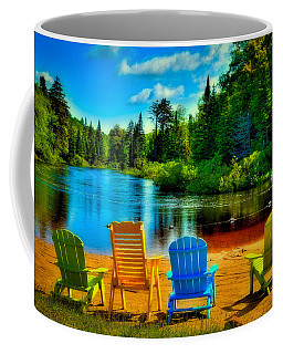 A Place To Relax At Singing Waters Coffee Mug