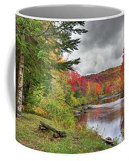 A Place To View Autumn Coffee Mug