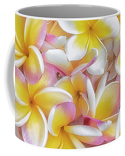 A Plate Of Plumerias Coffee Mug