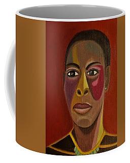 A Portrait Of A Model Coffee Mug