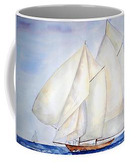 A Press Of Sails Coffee Mug
