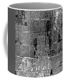 Coffee Mug featuring the mixed media A Priori by Sir Josef - Social Critic - ART