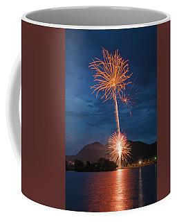 A Prodigious Fulmination In Palmer Lake, Colorado  Coffee Mug
