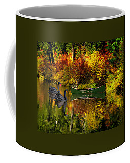 Coffee Mug featuring the photograph A Quiet Autumn Evening by Diane Schuster