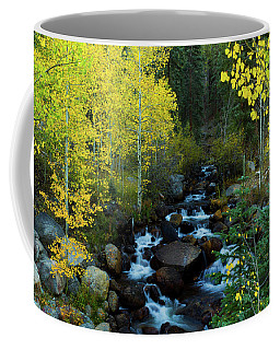 Coffee Mug featuring the photograph A Quiet Place In Autumn by John De Bord