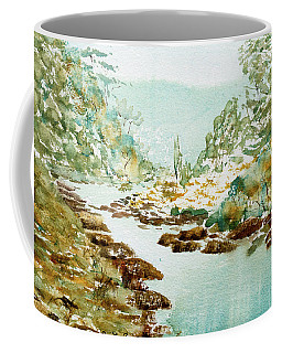 A Quiet Stream In Tasmania Coffee Mug