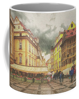 A Rainy Day In Prague Coffee Mug