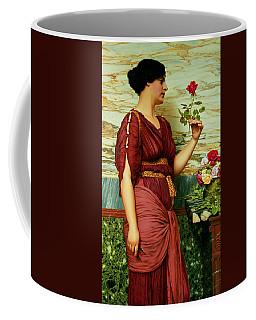 A Red Rose   Coffee Mug