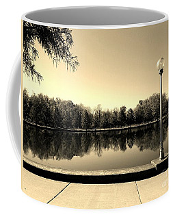 A Reflection Of Fall - Sepia Coffee Mug