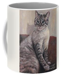 A Regal Pose Coffee Mug
