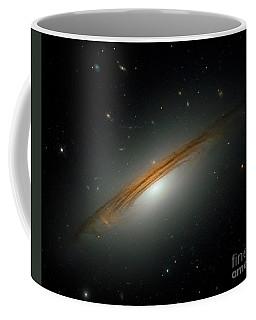 Coffee Mug featuring the photograph Fastest Spinning Galaxy by Nicholas Burningham