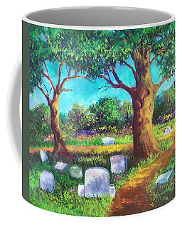 A Remembrance Coffee Mug by Randy Burns