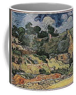 a replica of the landscape of Van Gogh Coffee Mug by Pemaro