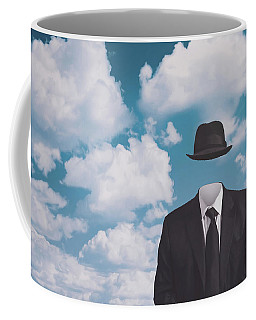A Riff On Magrittes The Pilgrim Coffee Mug