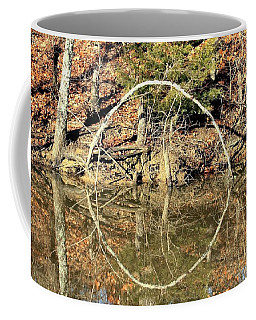A Ring On The Pond In Fall Coffee Mug