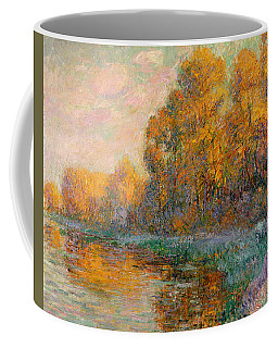 A River In Autumn Coffee Mug