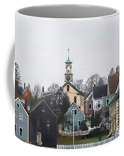 A River Town Coffee Mug by Marcia Lee Jones