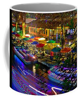 A San Antonio River Walk Christmas Coffee Mug