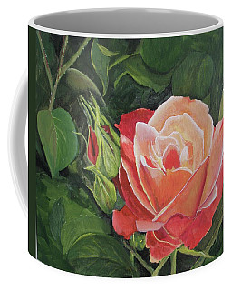A Rose Coffee Mug by Betty-Anne McDonald