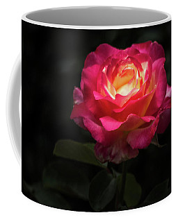 Coffee Mug featuring the photograph A Rose For Love by Ed Clark