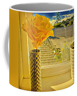 A Rose Is A Rose Electric Coffee Mug