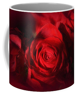 A Rose Is A Rose Coffee Mug by Tricia Marchlik
