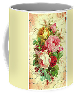 A Rose Speaks Of Love Coffee Mug by Tina LeCour