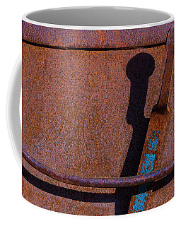 Coffee Mug featuring the photograph A Rusted Development II by Paul Wear