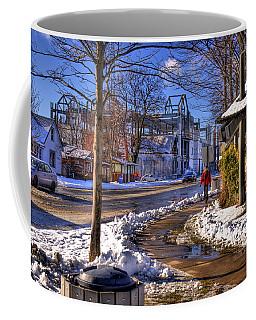 A Sandpoint Winter Coffee Mug