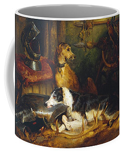 A Scene At Abbotsford Exhibited Coffee Mug