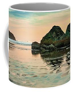 A Scene From The Beach Coffee Mug