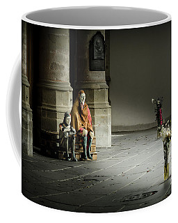 Coffee Mug featuring the photograph A Scene In Oude Kerk Amsterdam by RicardMN Photography
