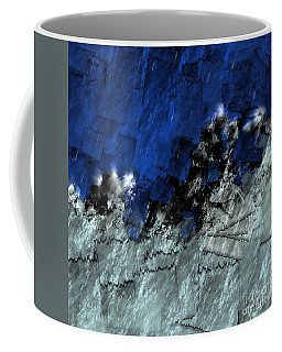 A Sea Storm In My Heart Coffee Mug by Silvia Ganora