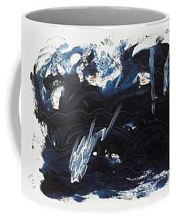 A Sea Turns Rough Coffee Mug