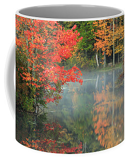 A Seat To Watch Autumn Coffee Mug