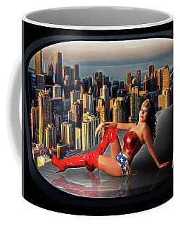 A Seat With A View Coffee Mug
