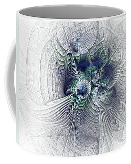 A Secret Sky - Fractal Art Coffee Mug by NirvanaBlues