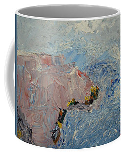 A Seething Ocean Coffee Mug