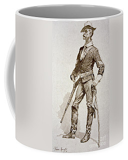 A Sergeant Of The Us Cavalry Coffee Mug
