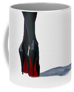 A Shade Of Louboutin Coffee Mug