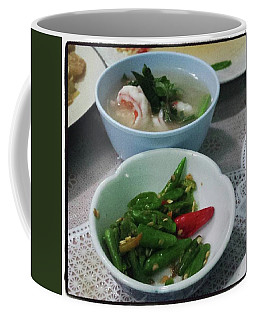 Coffee Mug featuring the photograph A Side Of Tom Yum Goon With Your by Mr Photojimsf
